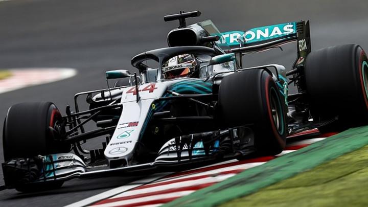 Hamilton najbrži na prvom treningu, Vettel peti