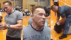 Nevjerovatno: Muškarac brutalno udario Arnolda Schwarzeneggera samo da bi privukao pažnju