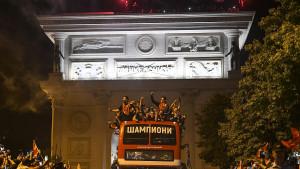 Veličanstvene scene u Skoplju: Dočekani šampioni Evrope!