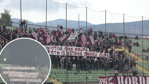 Poruka Hordi zla ostalim navijačima Sarajeva nije mogla biti jasnija