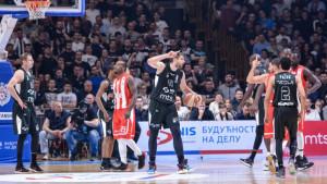 Partizan nakon drame slavio protiv Crvene Zvezde