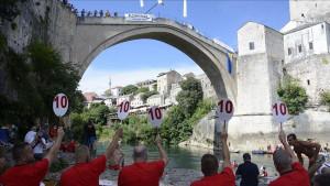 Milovanović i Tiro slavili u skokovima sa Starog mosta