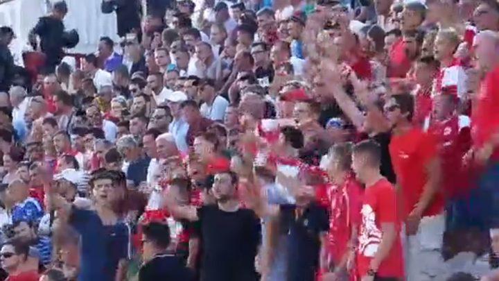 Pogledajte kako Crvena legija bodri Mladost protiv Želje