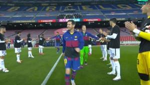Igrači Getafea su Barceloni pripremili špalir, ali iza svega se krije provokacija