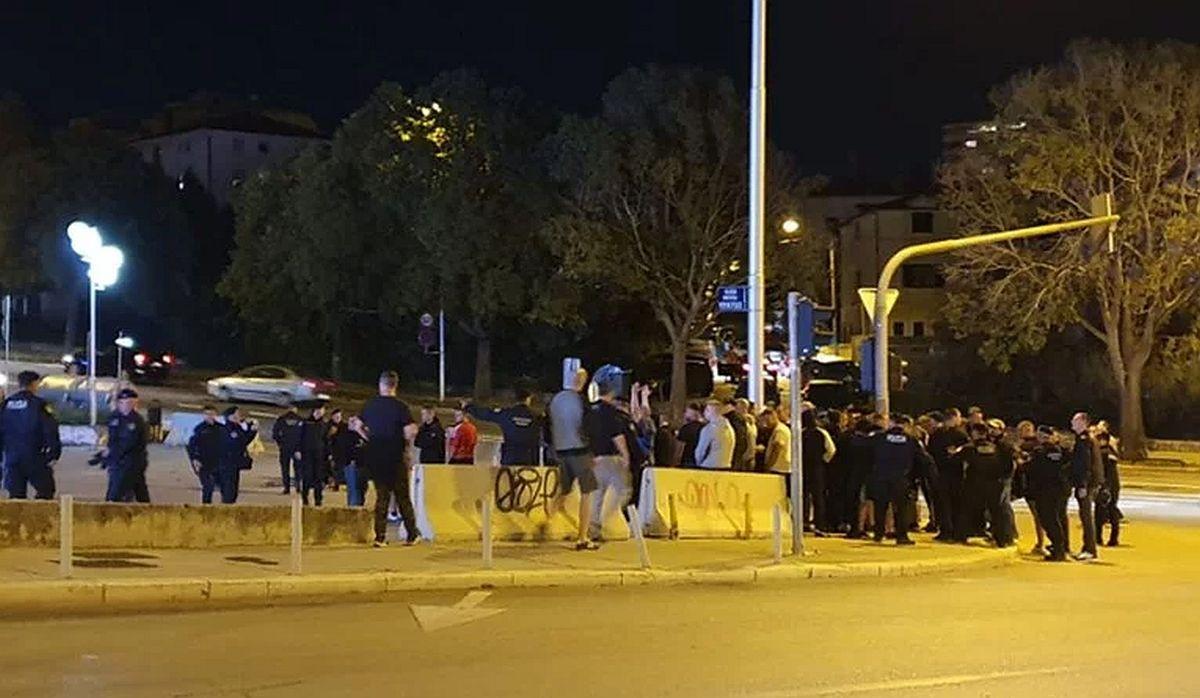 Sukob navijača Hrvatske i Mađarske, šest osoba privedeno, jedna povrijeđena