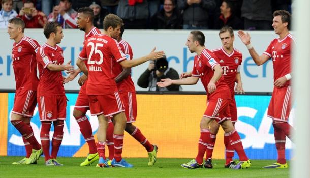 Bayern München najbolji svjetski klub u 2013. godini