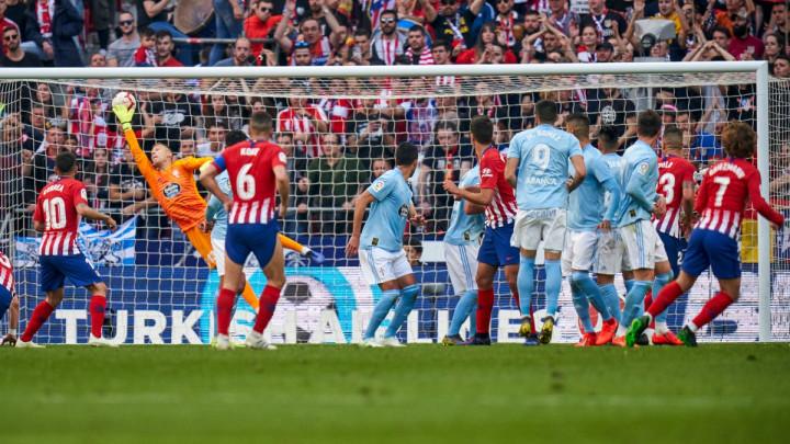 Atletico kaznio Celtu za propuštene prilike, majstorije Griezmanna i Morate