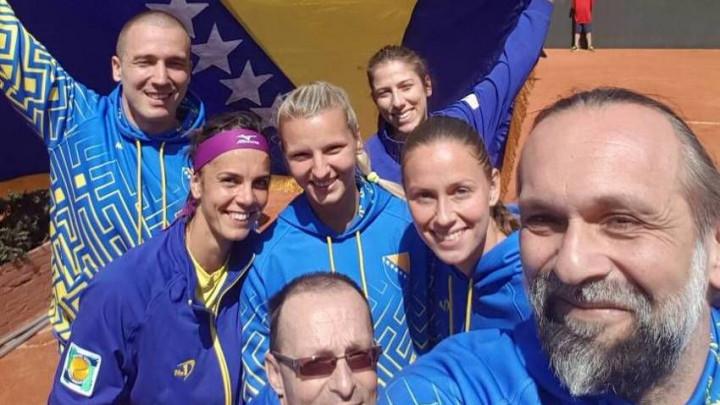 Fed Cup reprezentacija BiH razbila Norvešku i plasirala se u play-off
