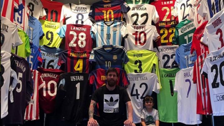 Zidane ipak nije jedini čovjek od kojeg je Messi tražio dres