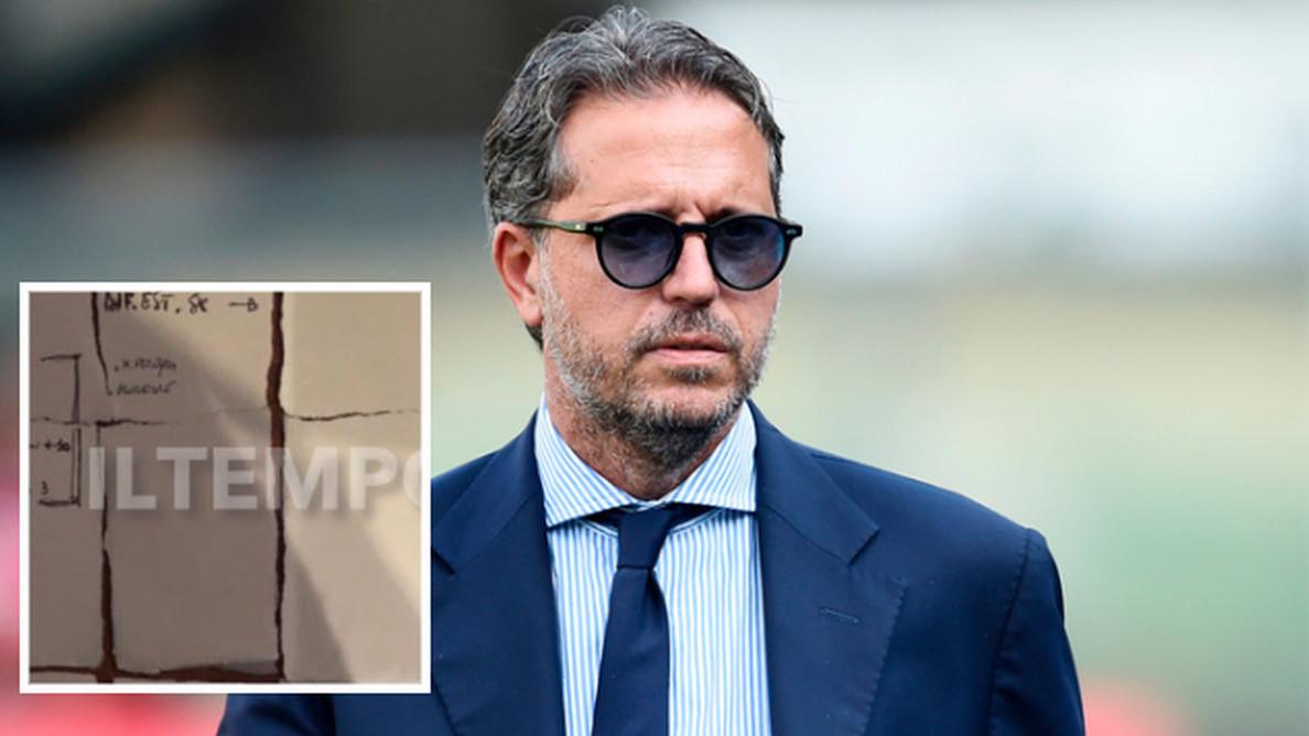 Veliki gaf direktora Juventusa: Spisak pojačanja zaboravio u rimskom restoranu!
