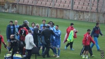 FK Željezničar: Osuđujemo ponašanje naših igrača