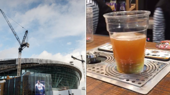 Način točenja piva na novom stadionu Tottenhama još nije viđen!