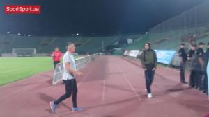 Navijači Sarajeva bijesni, igrač GOŠK-a naišao na probleme na kraju meča