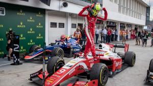 Mick Schumacher slavio u trci Formule 2 na Hungaroringu