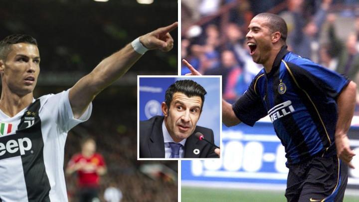 Figo odgovorio na teško pitanje: Ronaldo ili CR7?