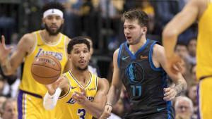Ni sjajni Dončić nije pomogao Dallasu protiv Lakersa