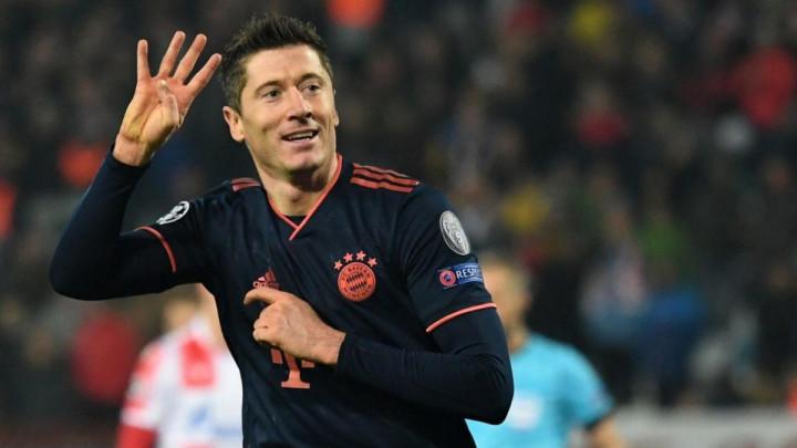 Lewandowski zabio četiri gola Zvezdi, a onda se oglasio: Moram vam nešto priznati...