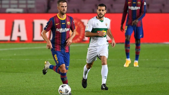 Miralem Pjanić igrao pola sata u pobjedi Barcelone