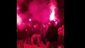 Bakljada i vatromet u Brezi u čast FK Željezničar