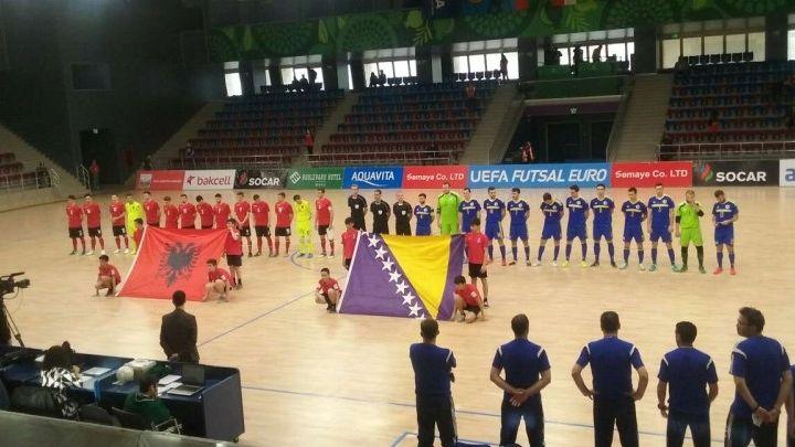 Futsal reprezentacija BiH remizirala protiv Albanije