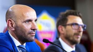 Monchi: Di Francesco ostaje trener Rome