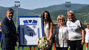 Alisa Spahić se oprostila od dresa reprezentacije BiH