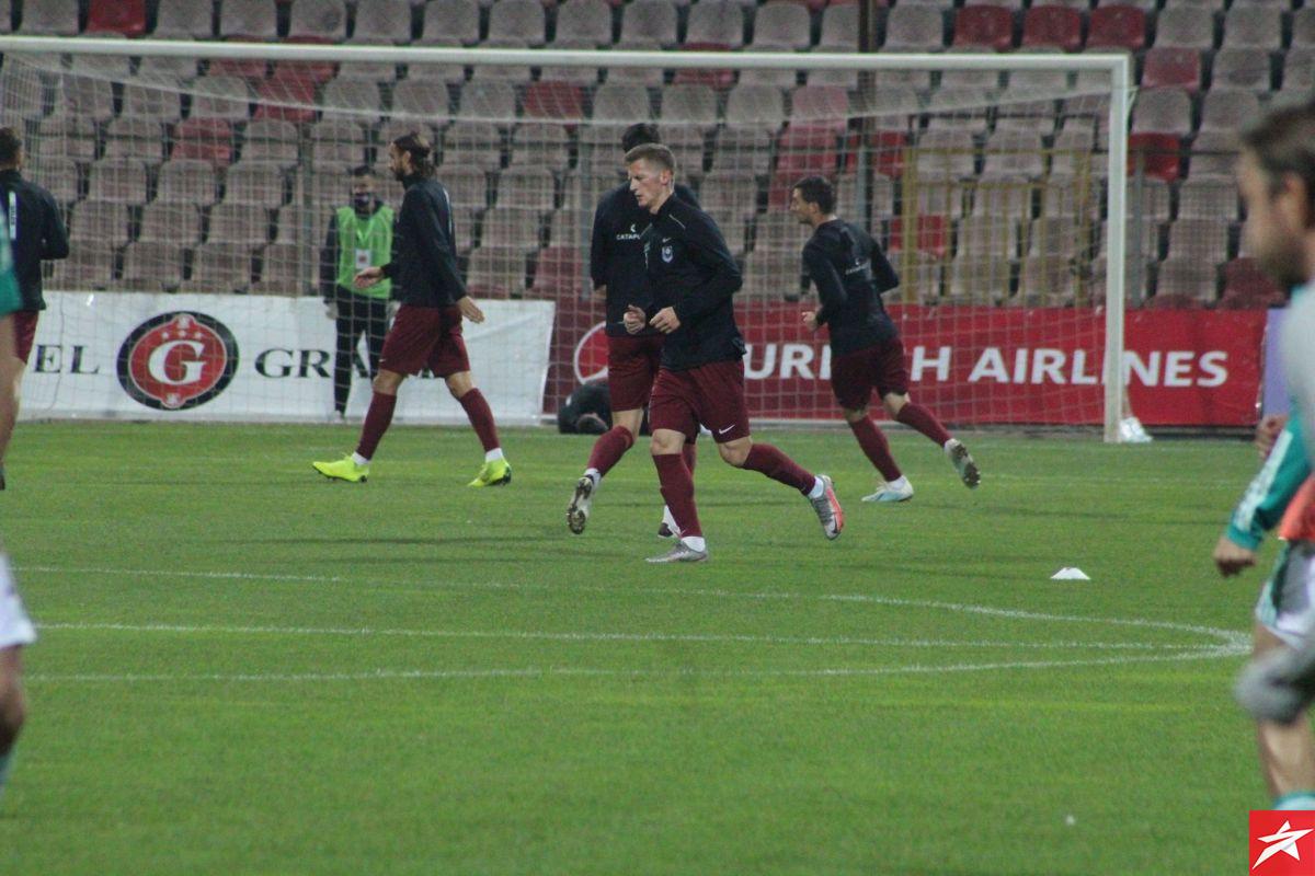 Maksimalno fokusirani: Igrači Sarajeva i Celtica istrčali na zagrijavanje