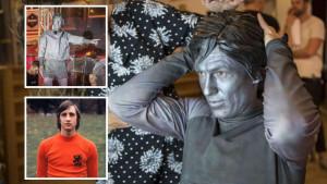 Mislili su da je to nova statua Johana Cruyffa, a onda se pojavio Arjen Robben