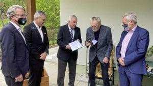 Delegacija Štajerske posjetila Osima, do izražaja ponovo došla Štrausova skromnost