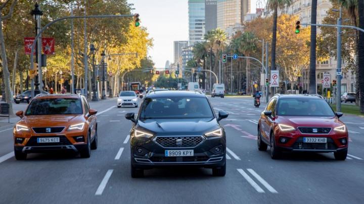 Po prvi put tri SUV vozila iz SEAT-a na cestama