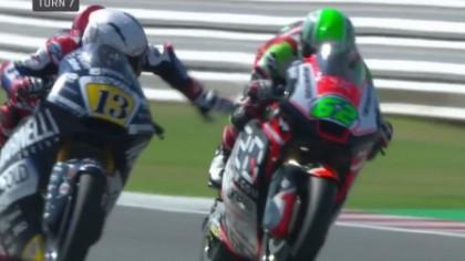 Ovo je pokušaj ubistva: Stravične scene na stazi u Moto 2 šampionatu