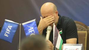Palestinski selektor u suzama nakon utakmice