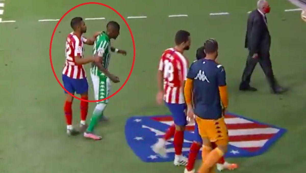 Pazi kuda hodaš: Igrač Betisa je krenuo da stane na grb Atletica, mogao je zažaliti