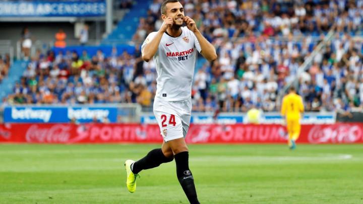 Jordan golčinom iz slobodnog udarca donio Sevilli pobjedu i prvo mjesto na tabeli