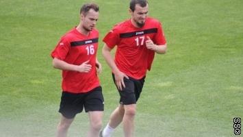 Ahmed Džafić i  Fenan Salčinović počeli s treninzima