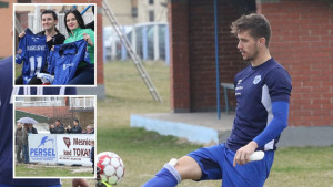 Plavi trenirali u Devetaku i privukli veliku pozornost lokalnog stanovištva