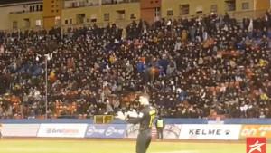 Borčevi navijači napuštaju stadion