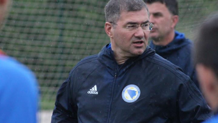 Slaven Musa objavio spisak U18 reprezentacije BiH