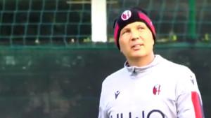 Siniša Mihajlović vodio trening!