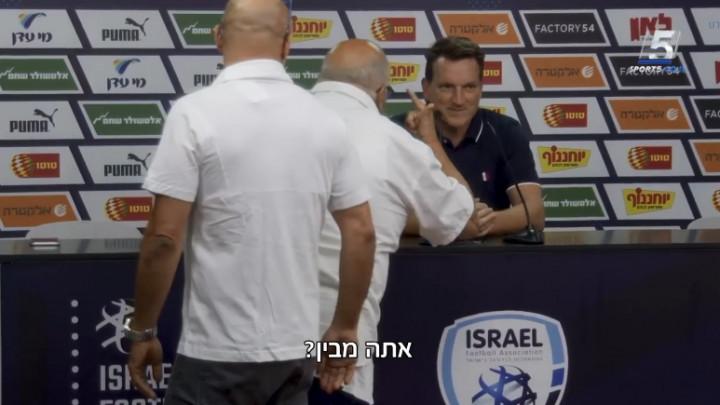 Stariji Izraelac pokušao nešto objasniti selektoru na engleskom, ali bolje da nije