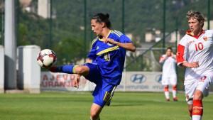 Bh. fudbalerke remizirale protiv Crne Gore