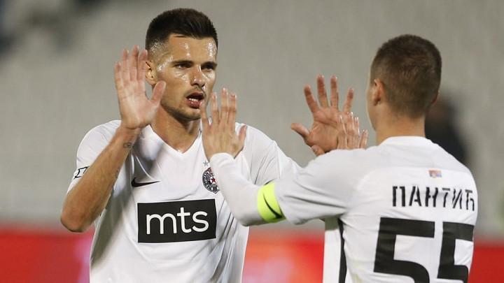 Partizan u četvrtfinalu Kupa, Zakarić strijelac