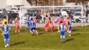 Jedan od najljepših pogodaka ove sezone Prve lige FBiH dolazi iz Tešnja