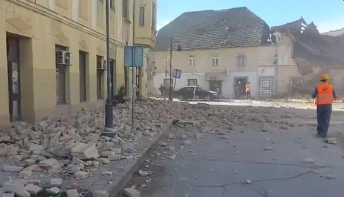 Jak zemljotres pogodio Hrvatsku: Košarkaši Cibone nekoliko trenutaka prije izašli iz dvorane