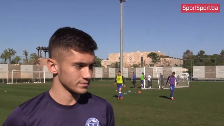 Šabanadžović: Za mene je rad s Amarom Osimom nešto novo, treninzi su zanimljivi