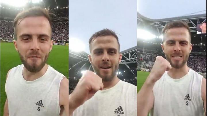 Pjanićeva poruka navijačima Juventusa poslije osvojenog Scudetta