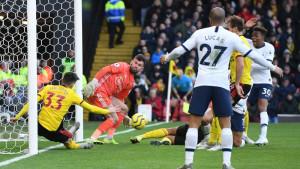 Sreća nije bila na strani Tottenhama: Milimetri ih dijelili od pobjede u 94. minuti