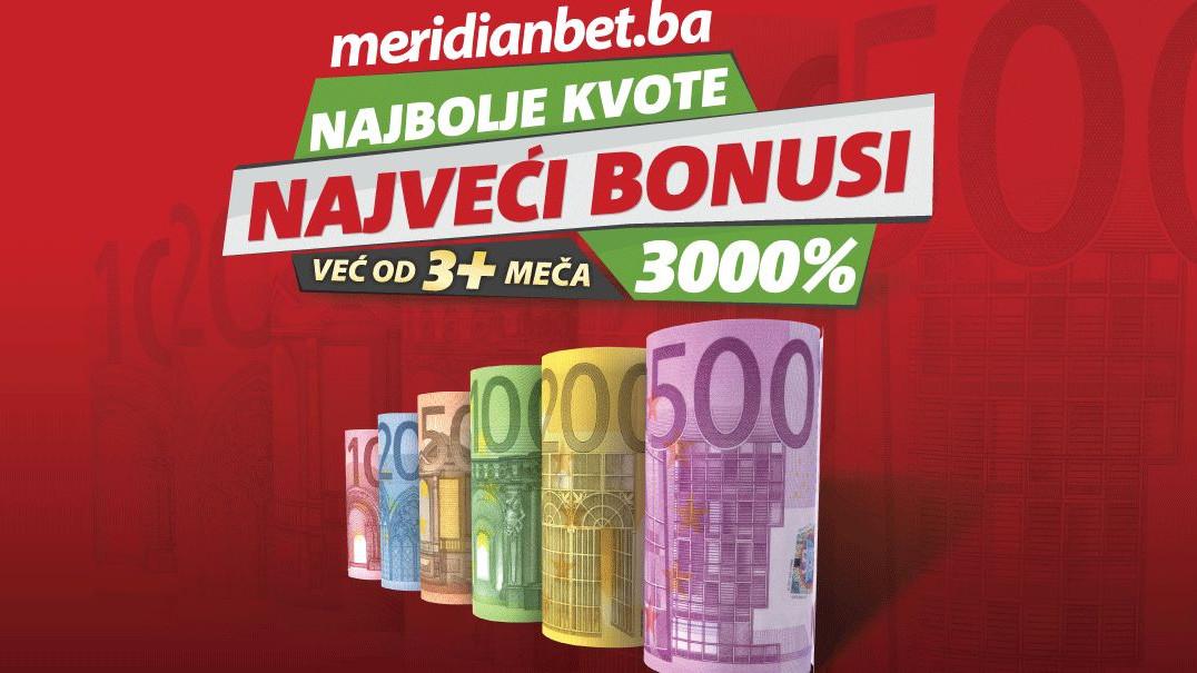 TOP PONUDA U MERIDIANU: Iskoristite šokantne kvote i bonuse