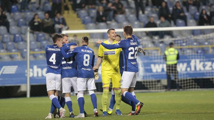 FK Željezničar razbio FK Krupa na Grbavici!
