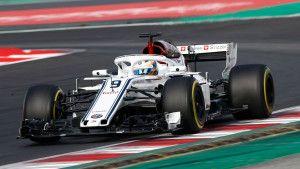 Dama za volanom Sauberovog F1 bolida